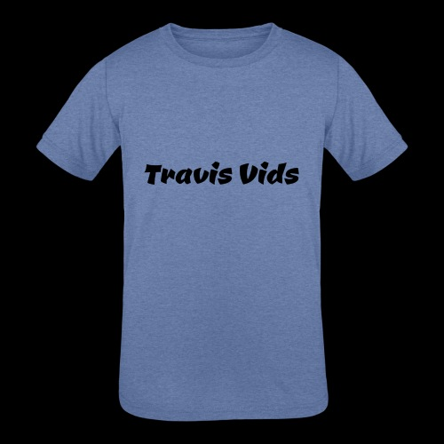 White shirt - Kids' Tri-Blend T-Shirt