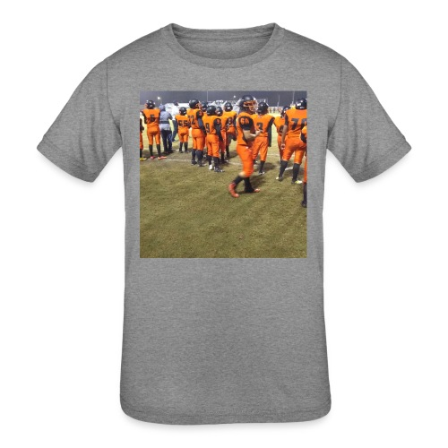Football team - Kids' Tri-Blend T-Shirt