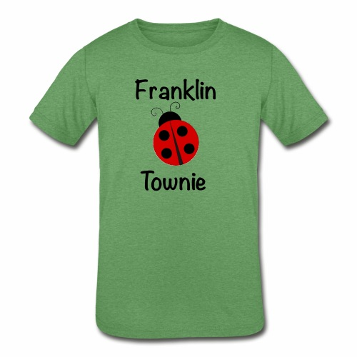Franklin Townie Ladybug - Kids' Tri-Blend T-Shirt