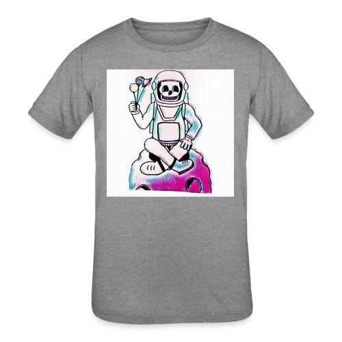 Astro Skull - Kids' Tri-Blend T-Shirt