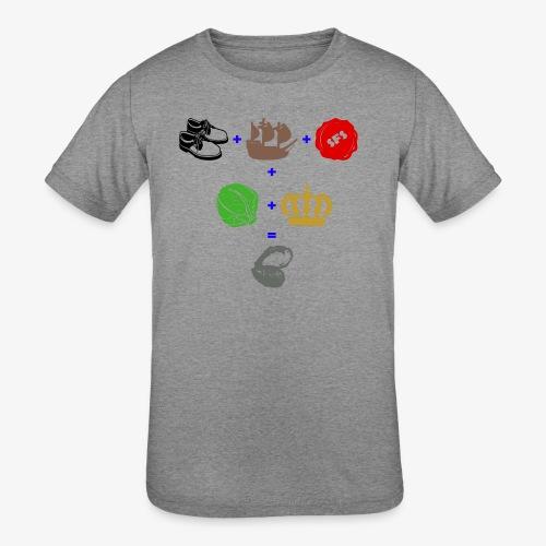 walrus and the carpenter - Kids' Tri-Blend T-Shirt