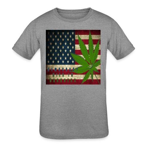 Political humor - Kids' Tri-Blend T-Shirt