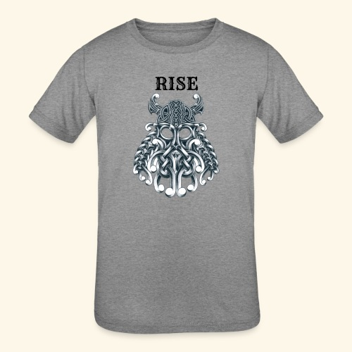 RISE CELTIC WARRIOR - Kids' Tri-Blend T-Shirt