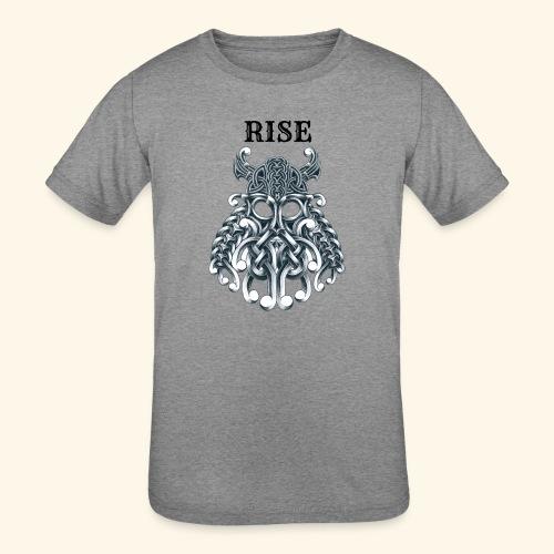RISE CELTIC WARRIOR - Kids' Tri-Blend T-Shirt