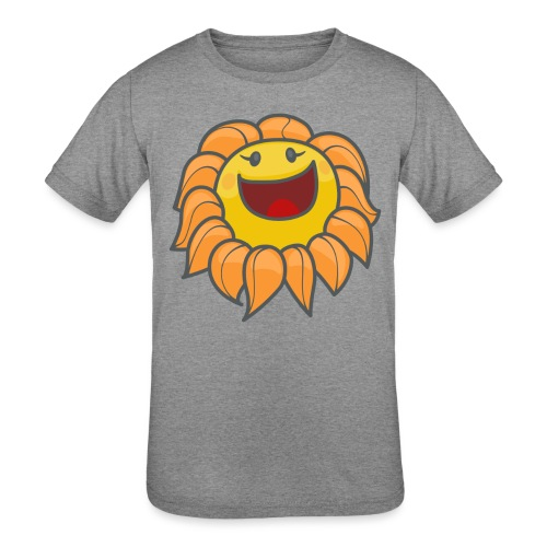 Happy sunflower - Kids' Tri-Blend T-Shirt
