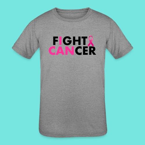 FIGHT CANCER - Kids' Tri-Blend T-Shirt