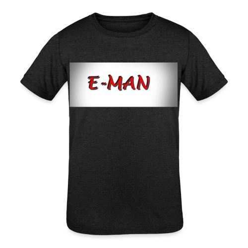 E-MAN - Kids' Tri-Blend T-Shirt