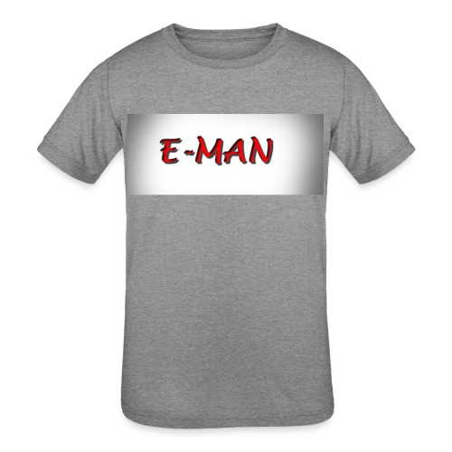 E-MAN - Kids' Tri-Blend T-Shirt