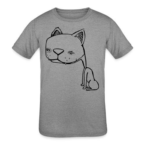 Meowy Wowie - Kids' Tri-Blend T-Shirt