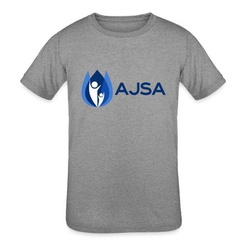 AJSA Bleu - Kids' Tri-Blend T-Shirt