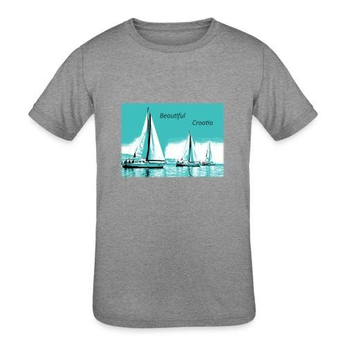 Beautiful Croatia - Kids' Tri-Blend T-Shirt