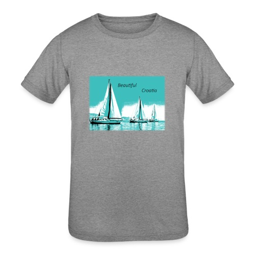 Beautiful Croatia - Kids' Tri-Blend T-Shirt