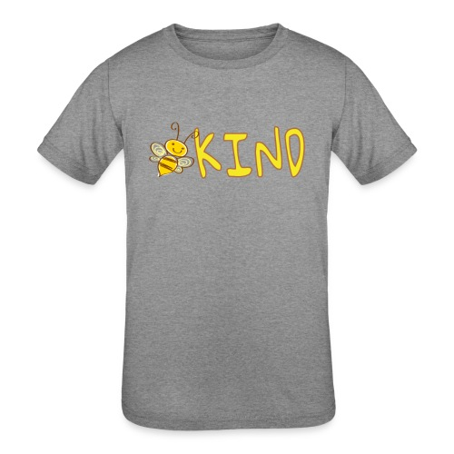 Be Kind - Adorable bumble bee kind design - Kids' Tri-Blend T-Shirt