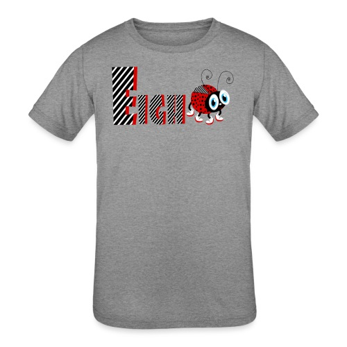 8nd Year Family Ladybug T-Shirts Gifts Daughter - Kids' Tri-Blend T-Shirt