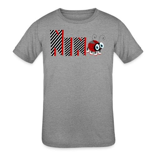 9nd Year Family Ladybug T-Shirts Gifts Daughter - Kids' Tri-Blend T-Shirt