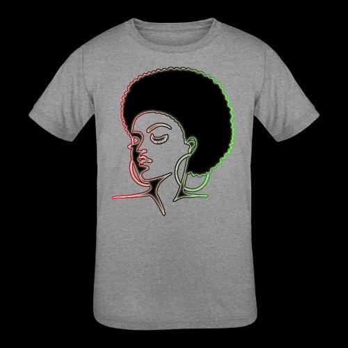 Afrolady - Kids' Tri-Blend T-Shirt