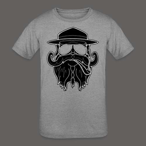 OldSchoolBiker - Kids' Tri-Blend T-Shirt