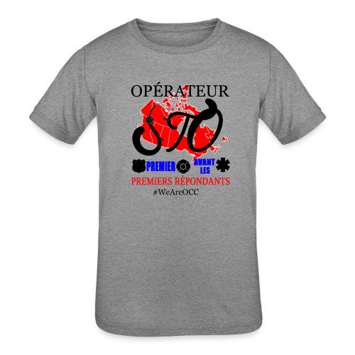 Operateur STO plus size - Kids' Tri-Blend T-Shirt