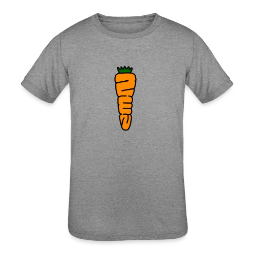 Zen Carrot - Kids' Tri-Blend T-Shirt