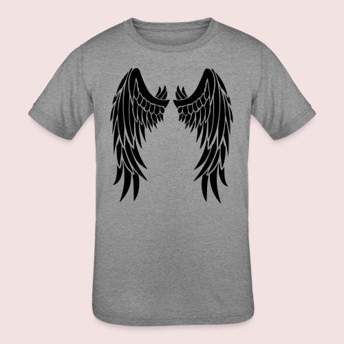 Angel wings - Kids' Tri-Blend T-Shirt