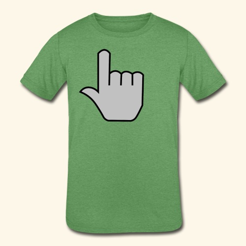 click - Kids' Tri-Blend T-Shirt