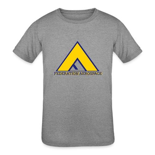 Federation Aerospace - Kids' Tri-Blend T-Shirt