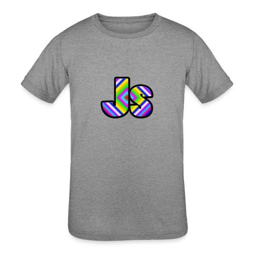 JsClanLogo2 - Kids' Tri-Blend T-Shirt