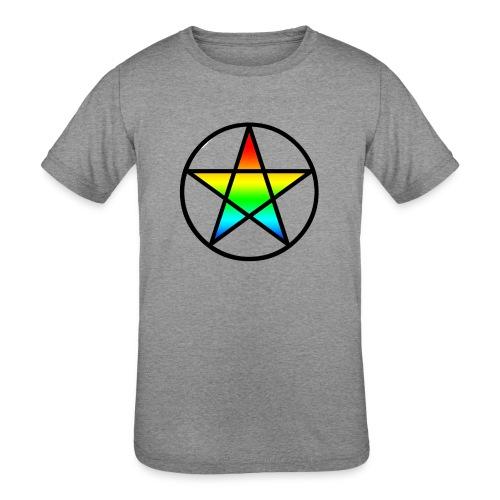 Official Iridescent Tee-Shirt // Men's // White - Kids' Tri-Blend T-Shirt