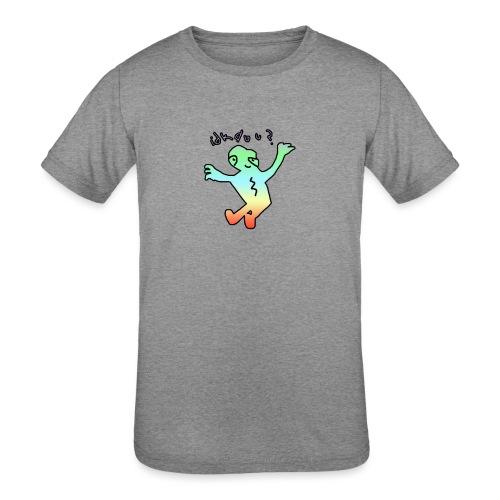 idk do u? tee - Kids' Tri-Blend T-Shirt