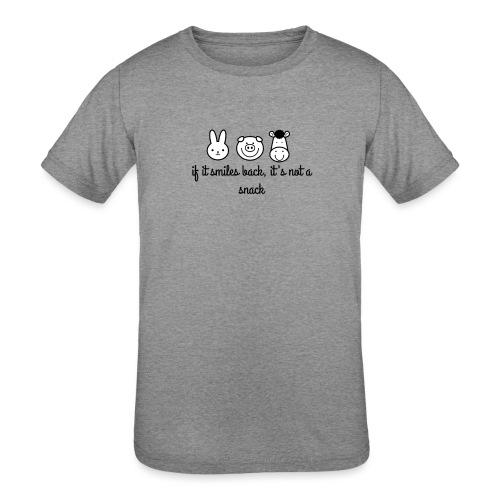 SMILE BACK - Kids' Tri-Blend T-Shirt