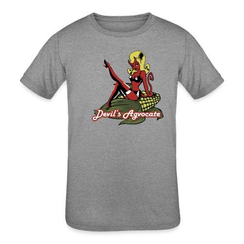 Devil's Agvocate - Kids' Tri-Blend T-Shirt