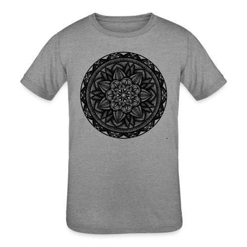Circle No.2 - Kids' Tri-Blend T-Shirt