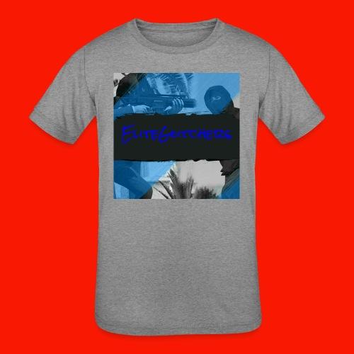 EliteGlitchersRevamp - Kids' Tri-Blend T-Shirt