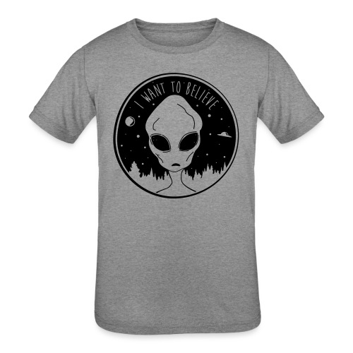 I Want To Believe - Kids' Tri-Blend T-Shirt
