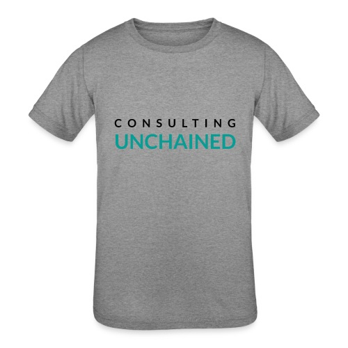Consulting Unchained - Kids' Tri-Blend T-Shirt