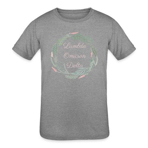 LOD Flower Wreath 1 - Kids' Tri-Blend T-Shirt