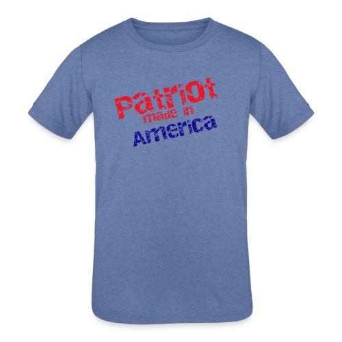 Patriot mug - Kids' Tri-Blend T-Shirt