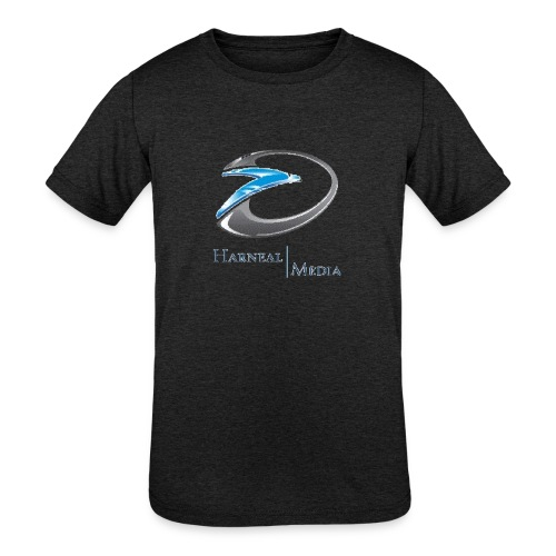 Harneal Media Logo Products - Kids' Tri-Blend T-Shirt