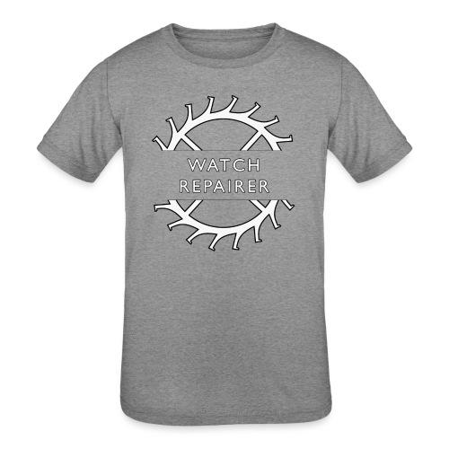 Watch Repairer Emblem - Kids' Tri-Blend T-Shirt