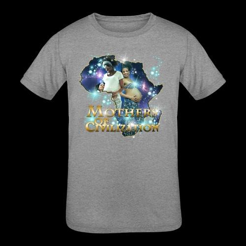 Mothers of Civilization - Kids' Tri-Blend T-Shirt