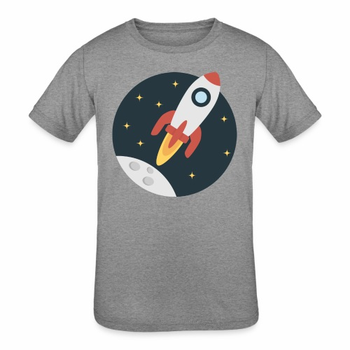 instant delivery icon - Kids' Tri-Blend T-Shirt