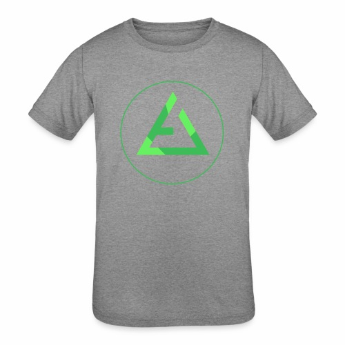 crypto logo branding - Kids' Tri-Blend T-Shirt
