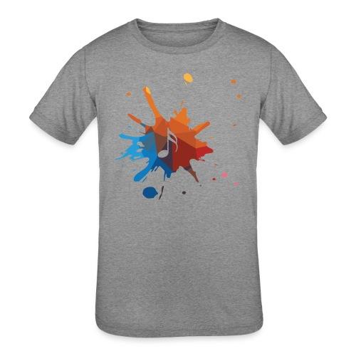 music - Kids' Tri-Blend T-Shirt