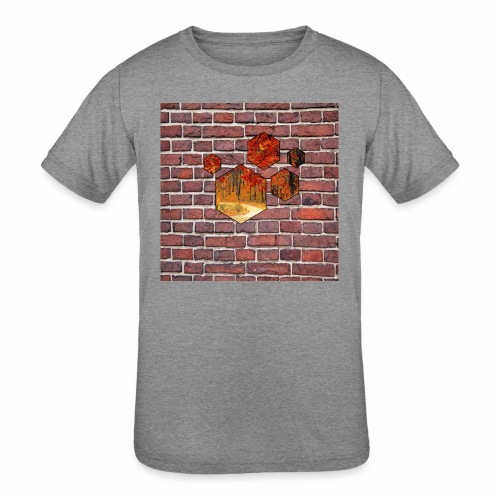 Wallart - Kids' Tri-Blend T-Shirt