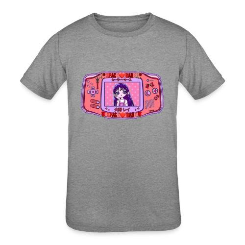 The red princess - Kids' Tri-Blend T-Shirt