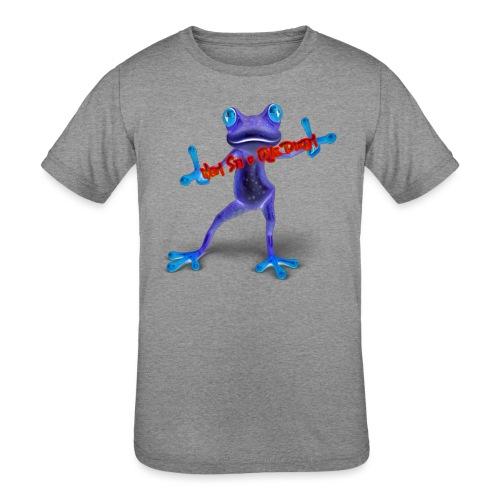 Logo - Nem Sei o Que Dizem - Podcast - Kids' Tri-Blend T-Shirt