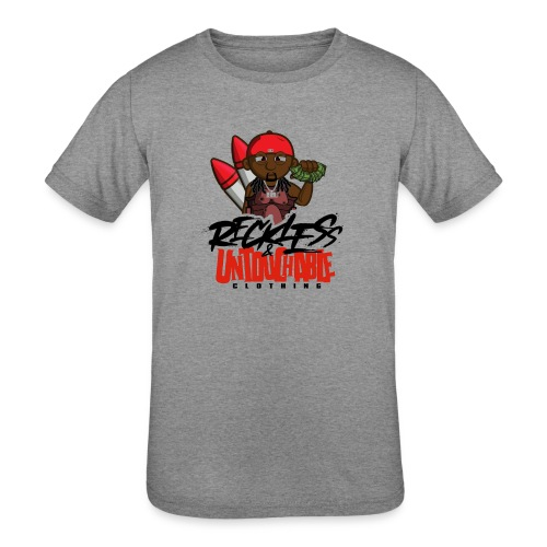 Reckless and Untouchable_1 - Kids' Tri-Blend T-Shirt