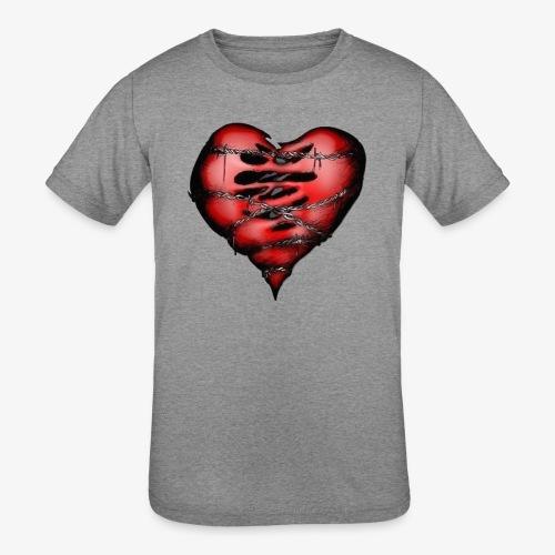 Chains Heart Ceramic Mug - Kids' Tri-Blend T-Shirt