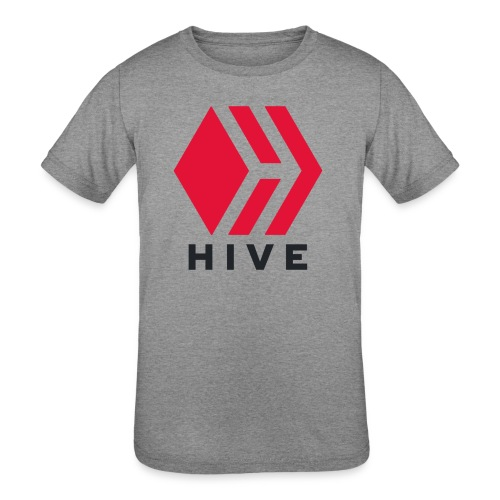 Hive Text - Kids' Tri-Blend T-Shirt