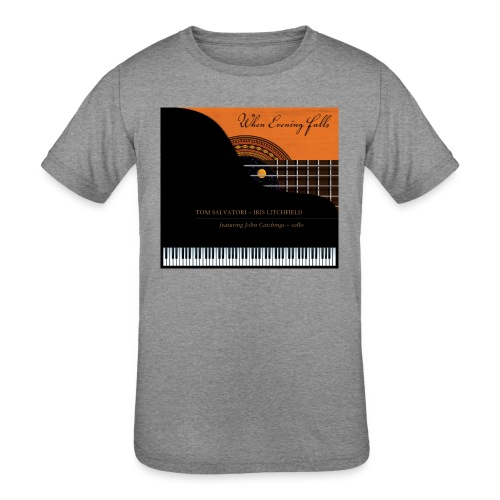 When Evening Falls CD Cover - Kids' Tri-Blend T-Shirt
